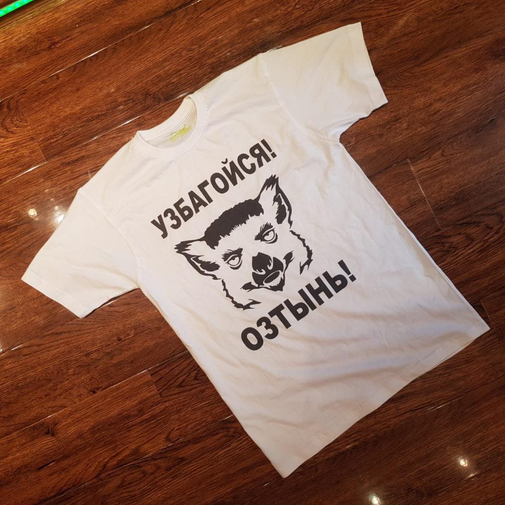 Печать на футболках за 60 минут в Москве на м.Таганская