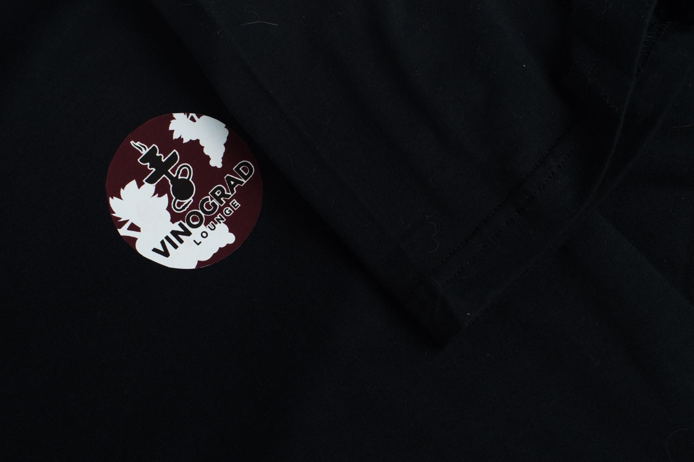 Печать логотипа на футболках Москва Студия Шарп