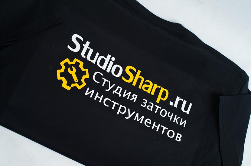 Печать на футболках на заказ недорого в Москве Studio-Sharp.ru