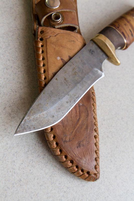 заточка немецкого ножа