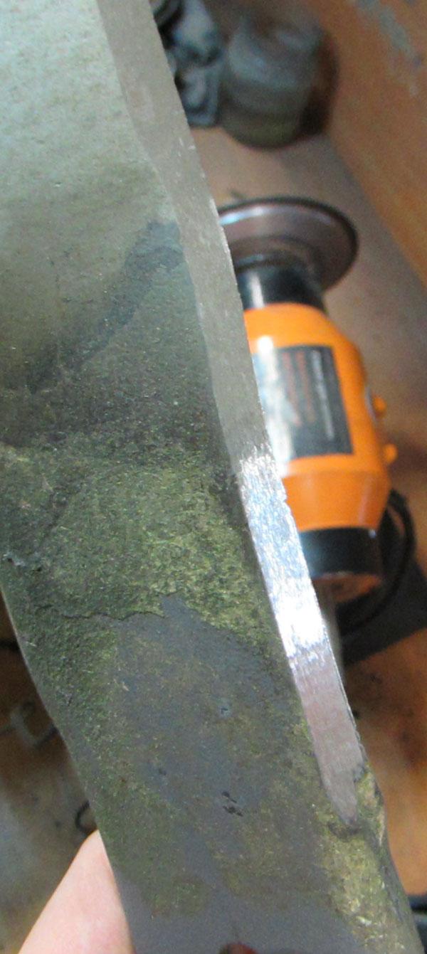 Заточка ножей газонокосилки