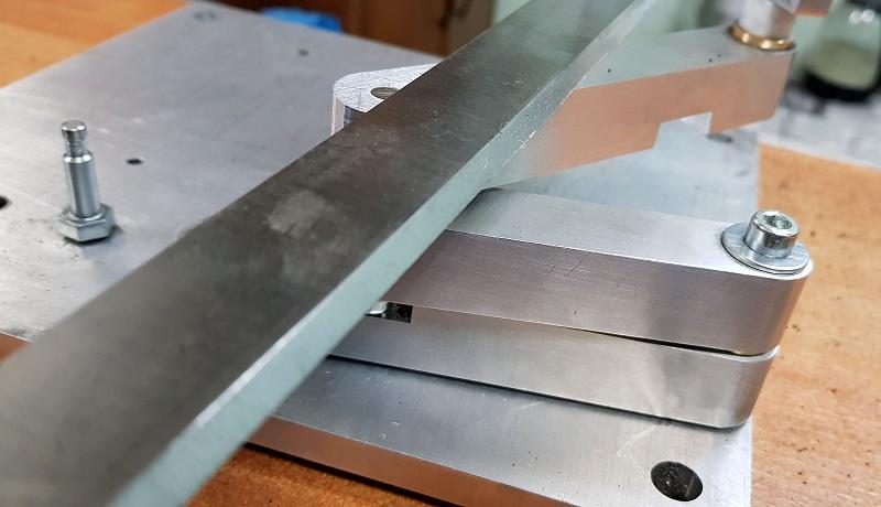 Обучение заточке плоских ножей