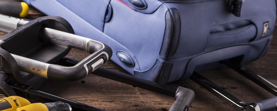 ремонт дорожных сумок
