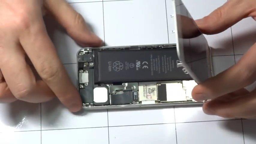 замена стекла iphone 5s цена