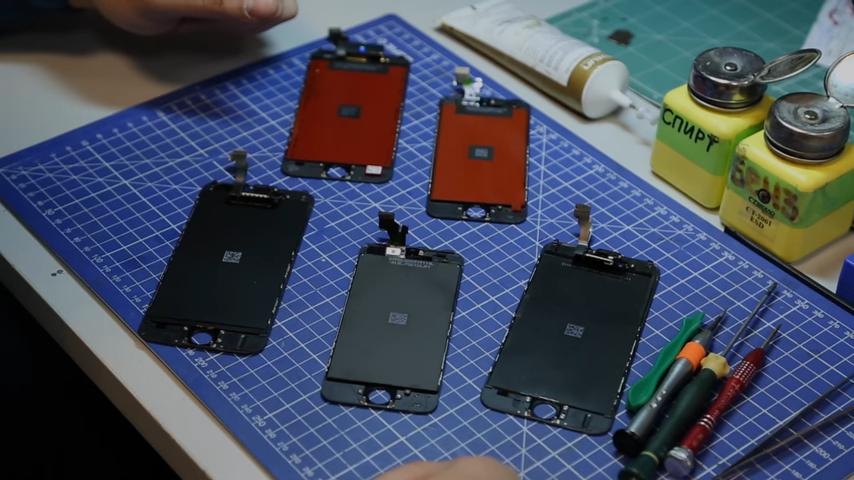 замена экрана iphone 6s цена