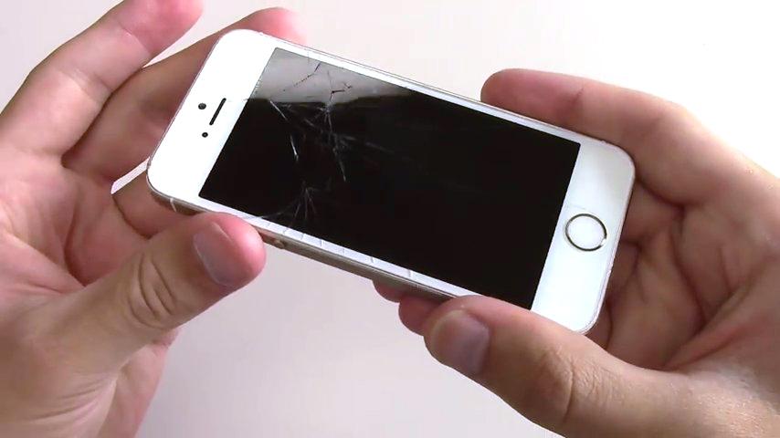 сколько стоит замена экрана на айфон 5s