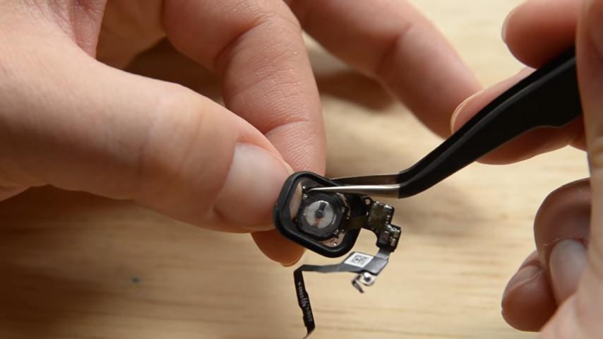 ремонт кнопки home iphone 7