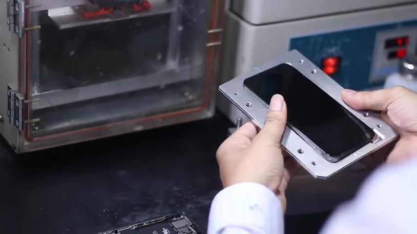 замена стекла айфон х